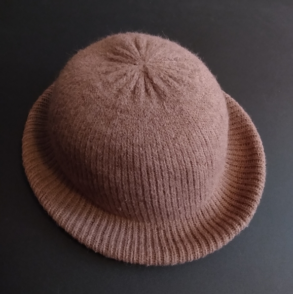 Vintage Arlin Brown Tan Wool Blend Knit Trilby Hat